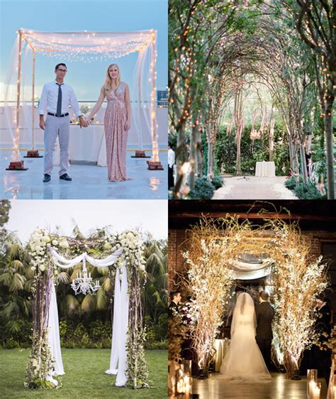 Wedding Arch With Lights by Wedding Arch Ideas You Ll Fall In With The Koch