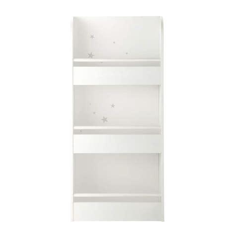 wooden shelf unit in white w 55cm songe maisons du monde
