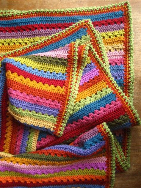 Attic24 Stripe Blanket by Attic24 Cosy Blanket Edging
