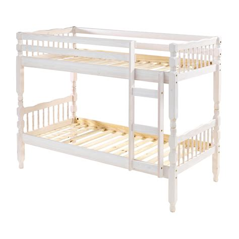 white wood bunk beds white wooden bunk bed up to 60 rrp next day