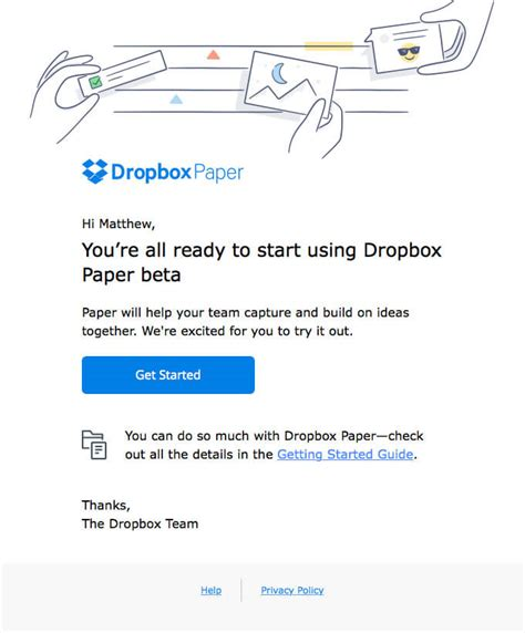 dropbox short link 6 actionable email marketing tips to instantly improve