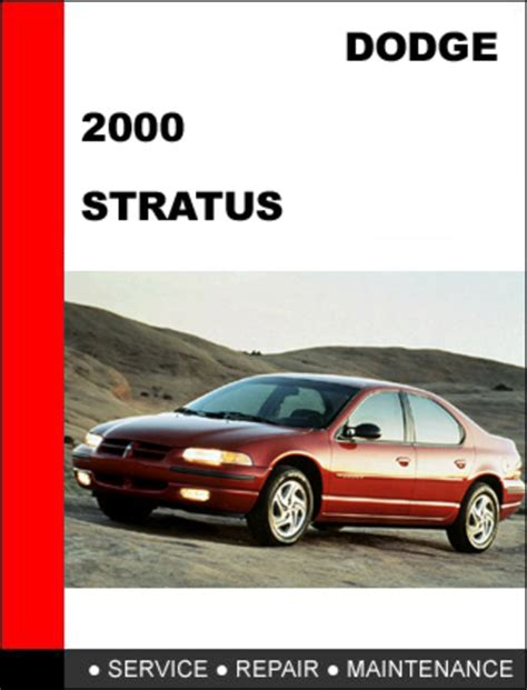 car repair manual download 2000 dodge stratus parental controls dodge stratus 2000 workshop service repair manual