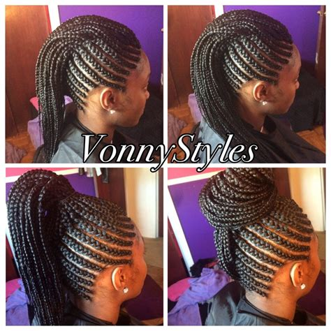 simple and versatile african hair style versatile braided mohawk mohawks galleries and hair style