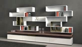 Modern Storage Units Modular Shelving Systems By Rodolfo Doldoni Modern Wall