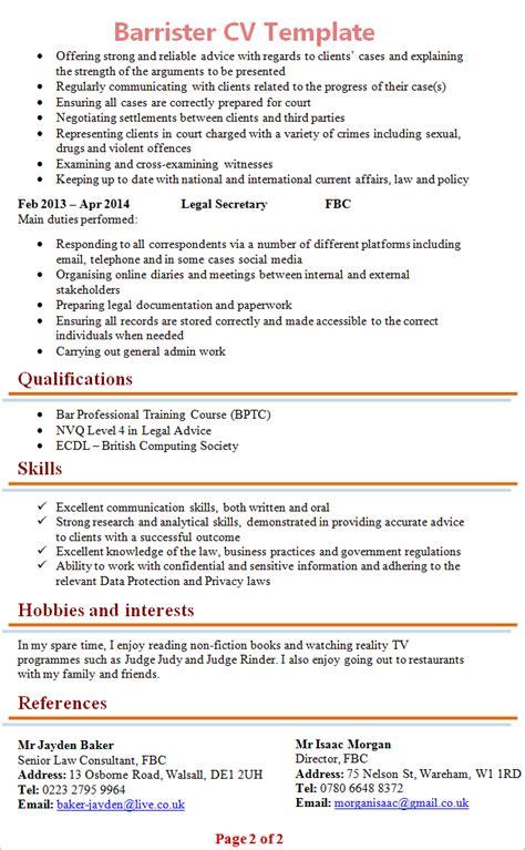 legal secretary cv template uk lucy walker recruitment
