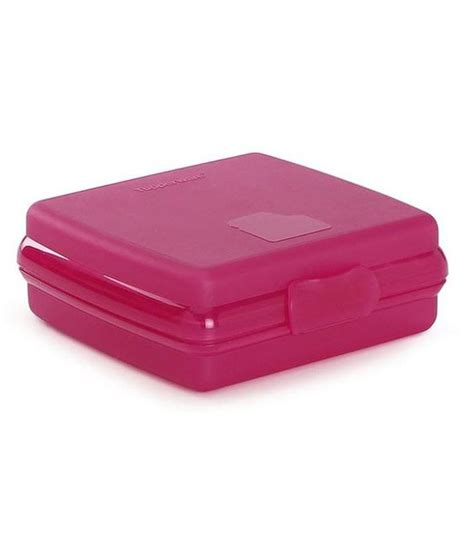 Tupperware Lunch Box Pink tupperware pink plastic lunch box buy at