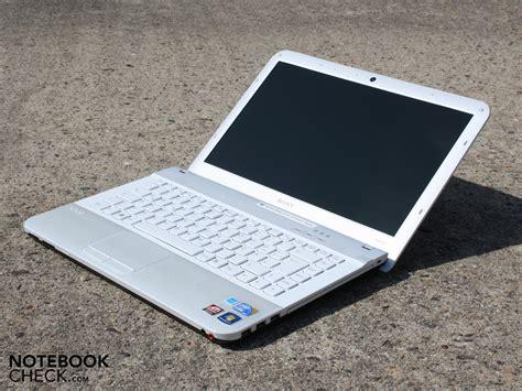 Sony Vaio review sony vaio vpc ea1s1e l notebook notebookcheck net reviews