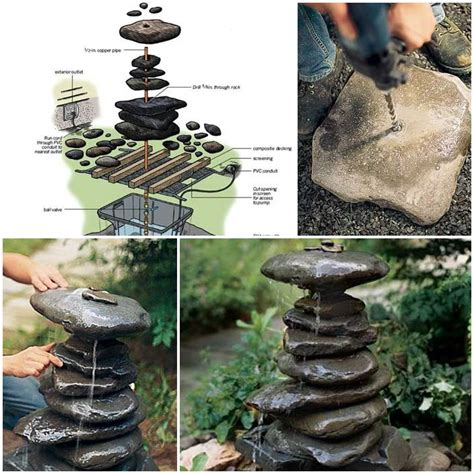 how to make a l out of anything how to make a garden fountain out of anything diy projects