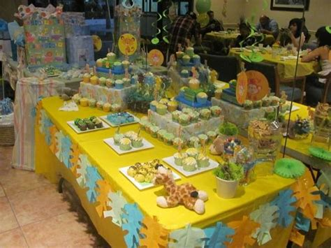 Baby Zoo Animals Baby Shower Decorations by Zoo Animals Baby Shower Ideas Photo 1 Of 6 Catch