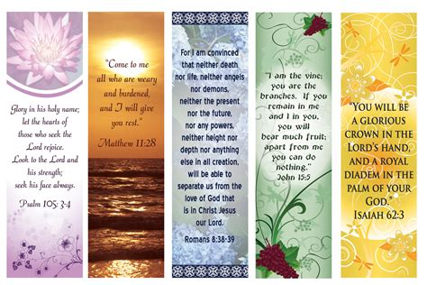 christian bookmark template religious quotes free printable bookmark quotesgram