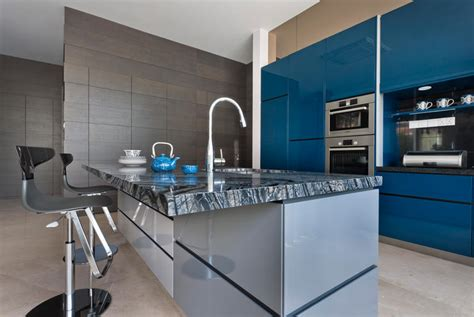 Futuristic Interior Design 10 Ways To Inject Bold Colours Into Your Kitchen Home