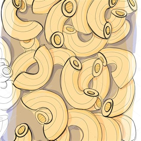 how to color pasta color drawing pasta stock vector 169 elenalarvatus 92602504
