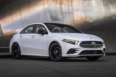 2019 Mercedes A Class Usa by 2019 Mercedes A Class Sedan Arrives Vehicle