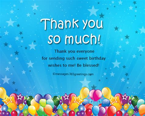 wishes for everyone thank you message for birthday wishes on