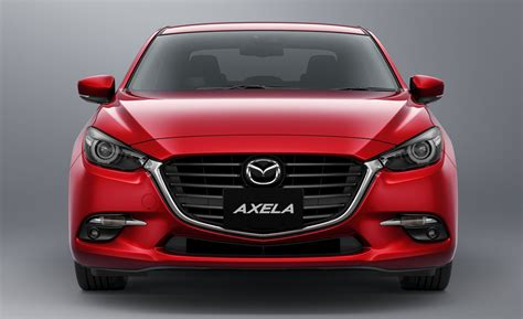 2016 mazda lineup 2016 mazda 3 facelift officially revealed looks