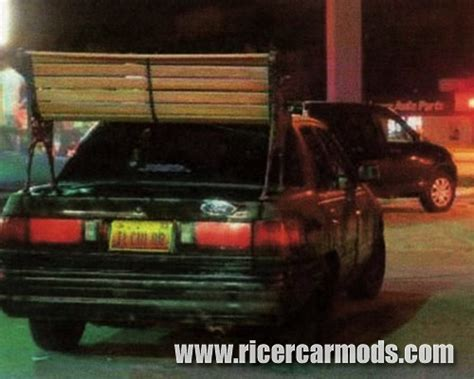 park bench spoiler ricer car mods the largest archive of ricer photos on
