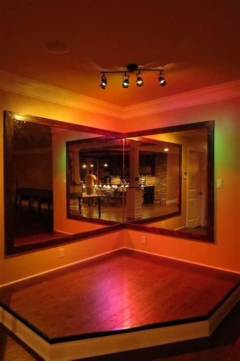 basement stage   curtain   rounded karaoke