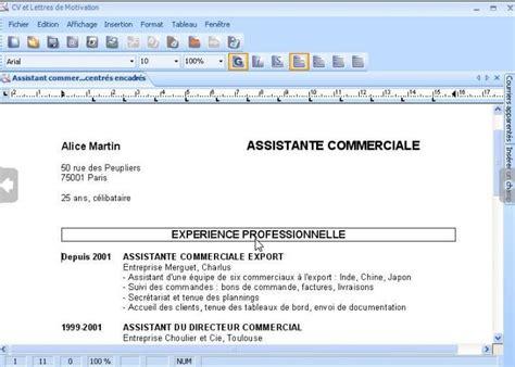 Présentation Lettre Commerciale Italien Cv Lettres De Motivation Micromania