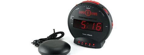 sonic bomb alarm clock  bed shaker