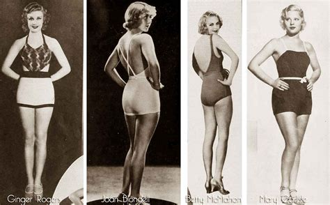 1930's Swimwear of the Stars !   Glamourdaze