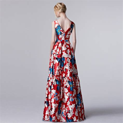 design dress retro coniefox new 2016 summer women elegant designer prom dress