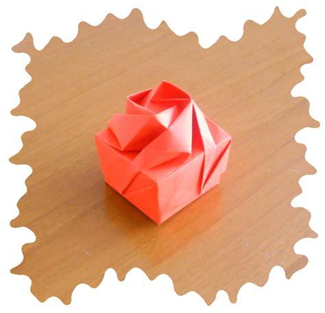Origami Flower Box - origami box origami et pliages