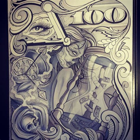 chicano style tattoo on pinterest