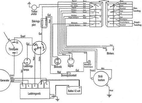 kopplingsschema till norsj 246 shopper med 12 volts elsystem