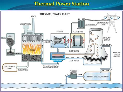 layout of thermal power plant ppt thermal power station electric power systems ppt download