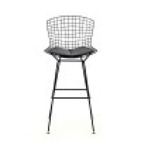 Bertoia Bar Stool Replica by Replica Bertoia Barstool Black 2pcs