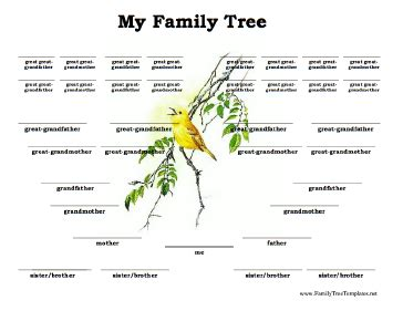 free printable family tree with siblings family tree template family tree template with brothers