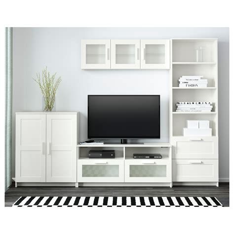 www ikea usa com brimnes tv storage combination white 260x41x190 cm ikea