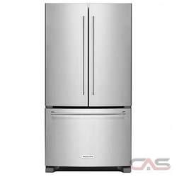 Kitchenaid krff305ess french door refrigerator 36 quot width freezer