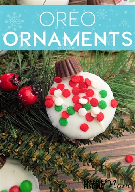 oreo ornament cookies recipe