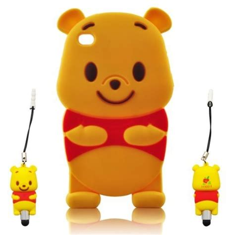 Silikon 3d Baby Pooh For Iphone 5 1000 images about what s your sylus on animal crossing pen brands and apple iphone