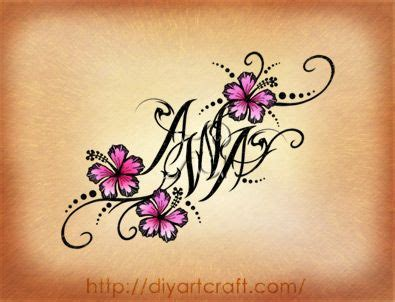 hidden initial tattoo designs a picmia