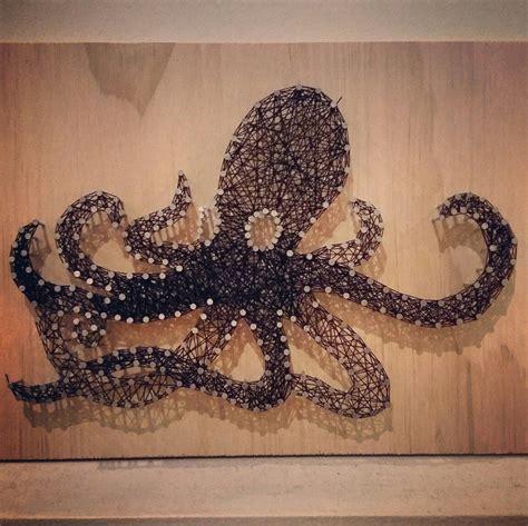 3d Sting Nail octopus nail string artsy fartsy