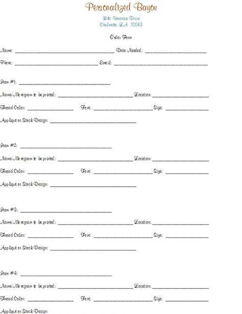 Bridal Registry Form Template Image Tinypic Free Image Hosting Photo