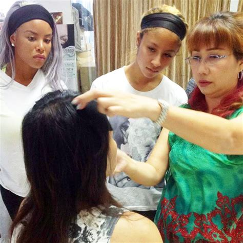 Korean Eyelashes Extension Course korean eyebrow enhancement embroidery japanese eyelash
