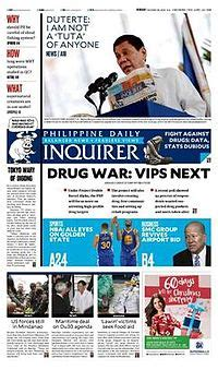 local and foreign news section meaning philippine daily inquirer wikipedia