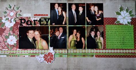 layout design for christmas party pin by laurel geisbush on my scrapbook layouts pinterest