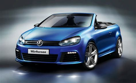 volkswagen cars volkswagen golf r cabriolet concept drops at w 246 rthersee