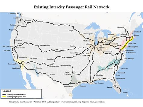 passenger map usa re america the future of u s railroads part 1