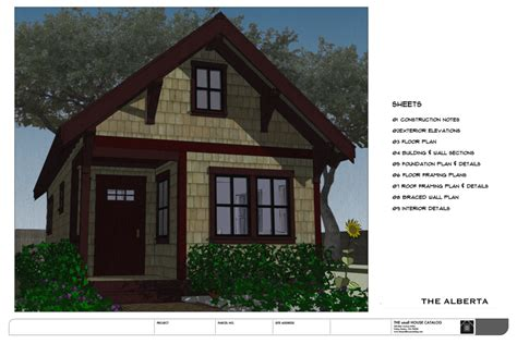 blueprints for small houses no 32 the alberta backyard bungalow house plan the