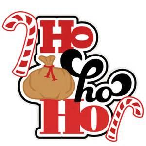 ho ho ho svg scrapbook title shapes christmas cut outs cricut cute svg cut files free svgs
