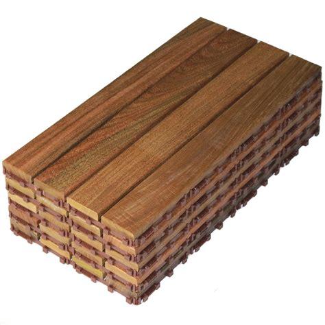 Interlocking Patio Flooring by Flexdeck Interlocking Patio Tiles 12 X 24 Set Of 5 In