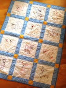 Make A Baby Quilt by How To Make A Baby Quilt Knitionary