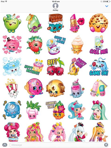 Fun Aufkleber shopkins sticker fun apps 148apps