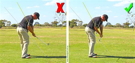 correct swing plane in golf the path to success inside golf australia s most read