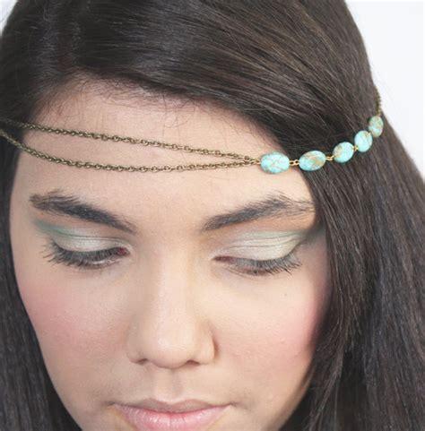 Headpiece Headband Chain chain headpiece headband hair piecebohemian boho